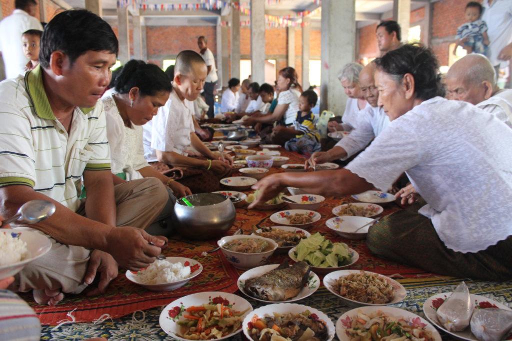 Festmahl zu Pchum-Ben